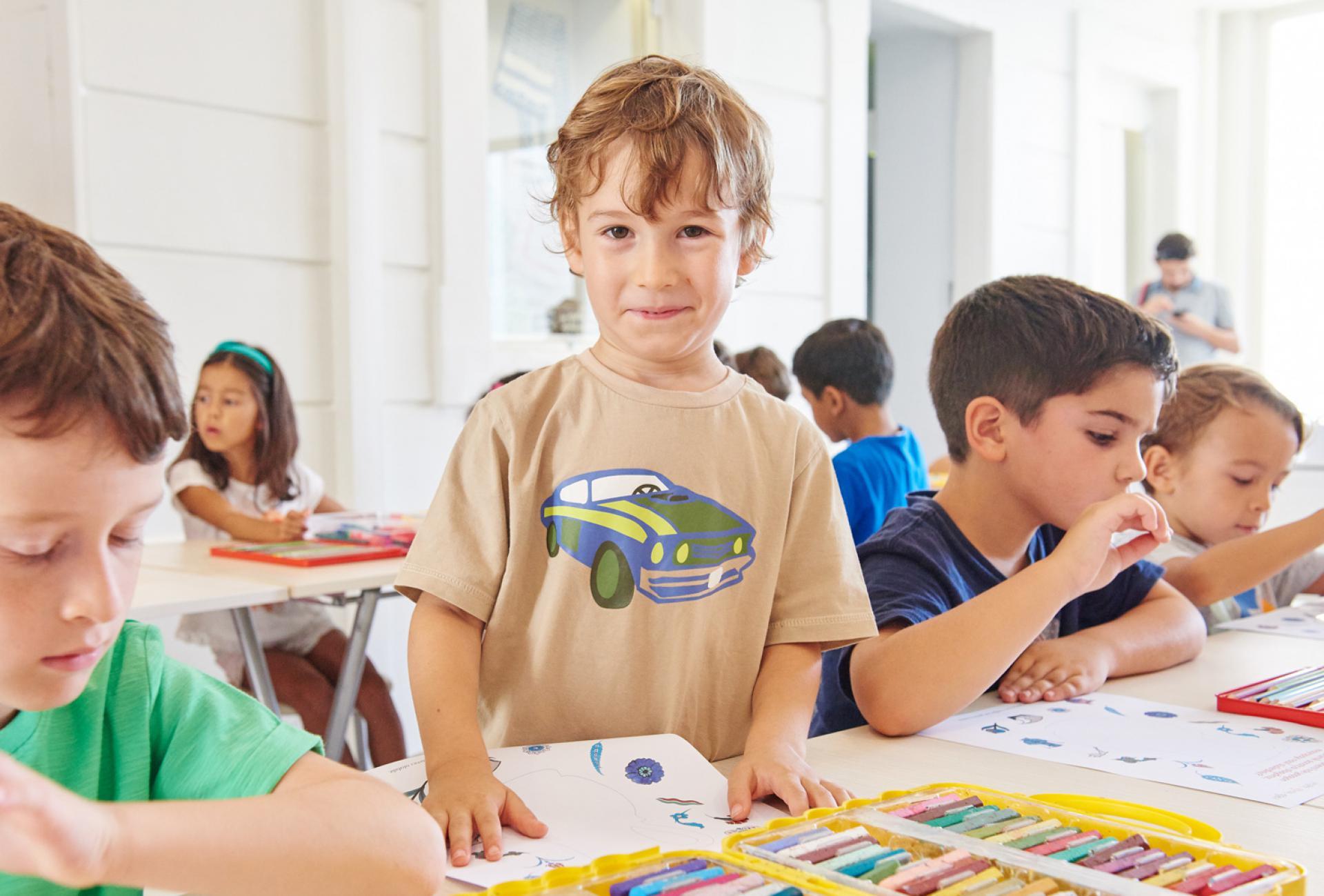 Primary and Junior School - EDUCATION & ACTIVITIES - Sadberk Hanım Museum