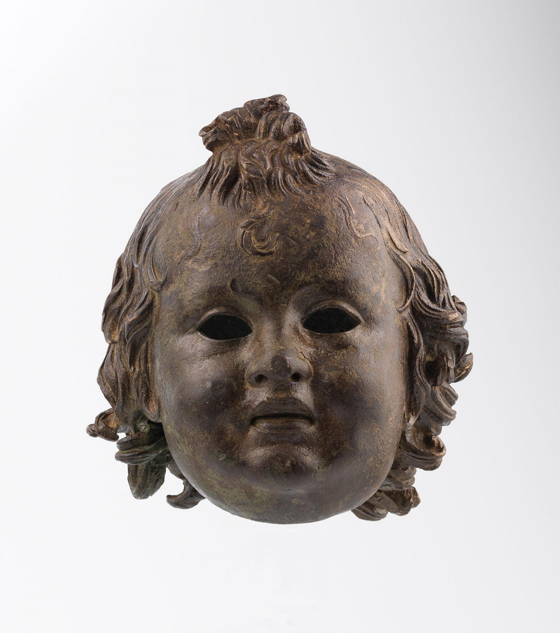 SHM 5723 - Head of a child BronzeHellenistic Period2nd century BC
