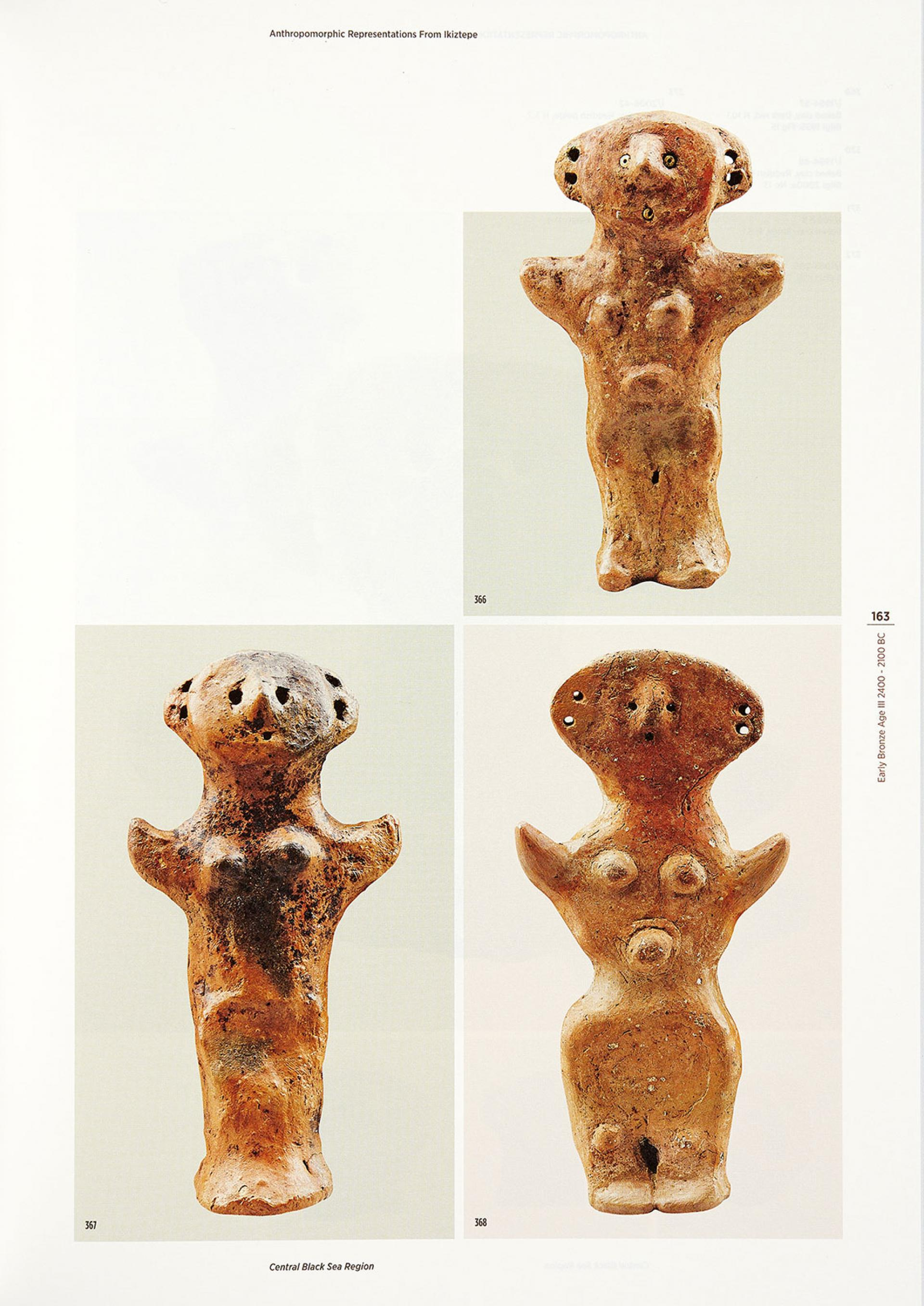 Anthropomorphic Representations in Anatolia - Before The Classical Age - KİTAPLAR - Sadberk Hanım Müzesi