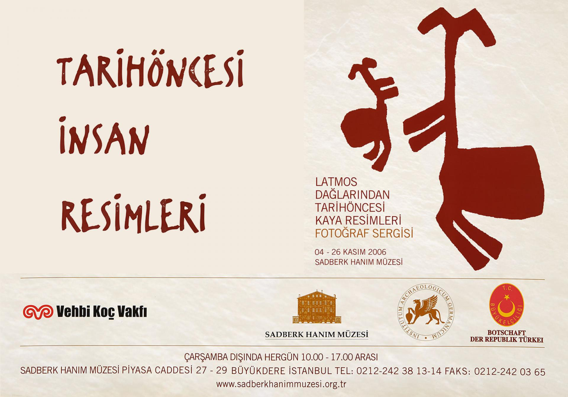 PREHISTORIC HUMAN PAINTINGS - EXHIBITIONS - Sadberk Hanım Museum