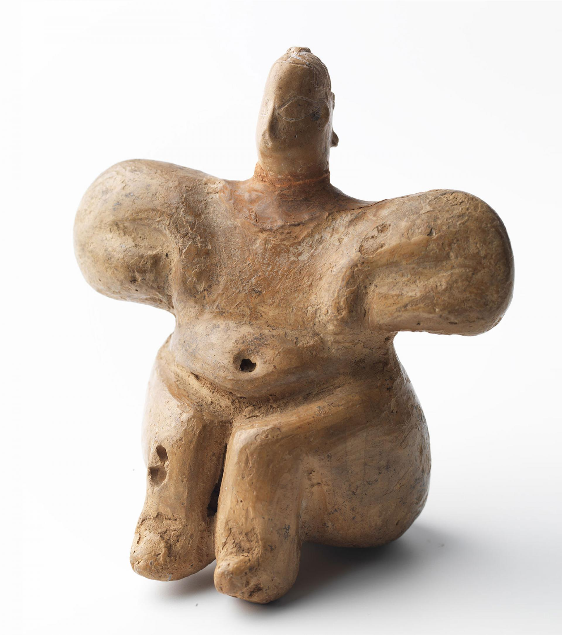 SHM 4604 - Female figurineTerracottaLate Neolithic AgeFirst half of 6th millenium BCLakes Region