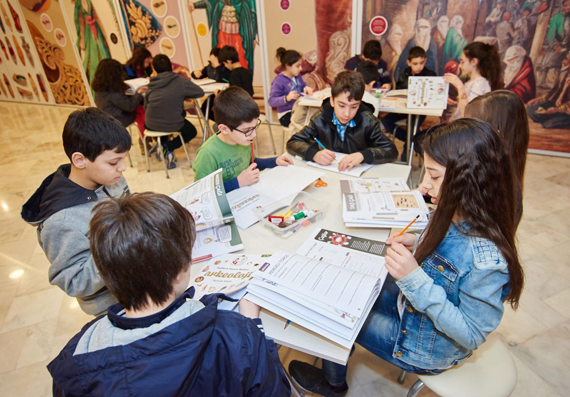 Along to the Museum! Discover, Learn, Have Fun - EDUCATION & ACTIVITIES - Sadberk Hanım Museum