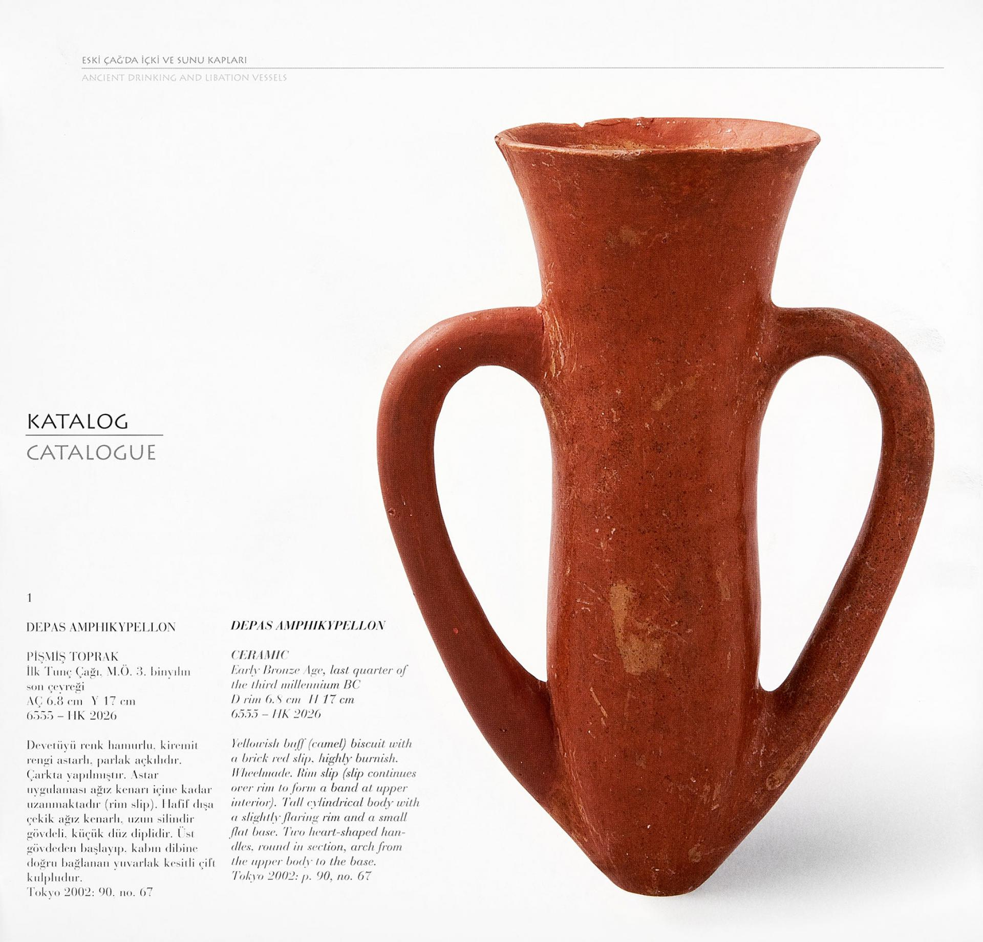 Ancient Drinking and Libation Vessels - Sadberk Hanım Museum Collection - BOOKS - Sadberk Hanım Museum