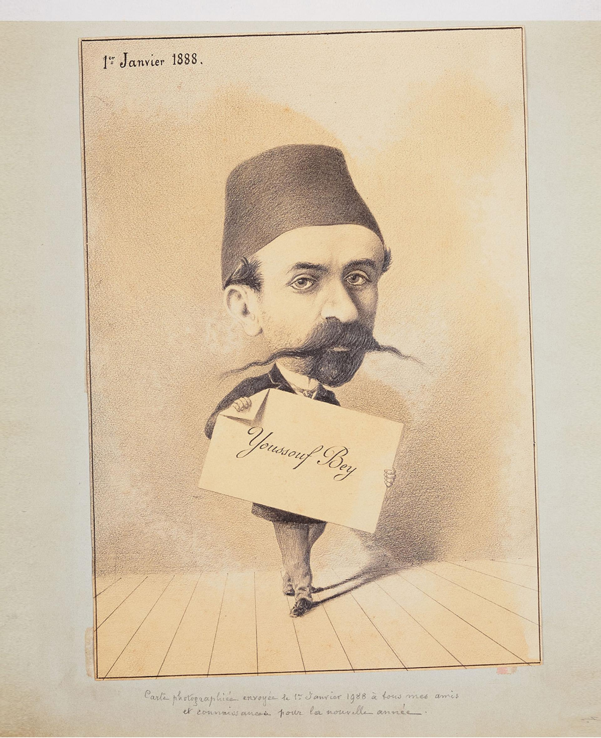 Youssouf Bey, The Charged Portraits Of Fin-De-Siècle Pera, Ömer M. Koç Collection - KİTAPLAR - Sadberk Hanım Müzesi