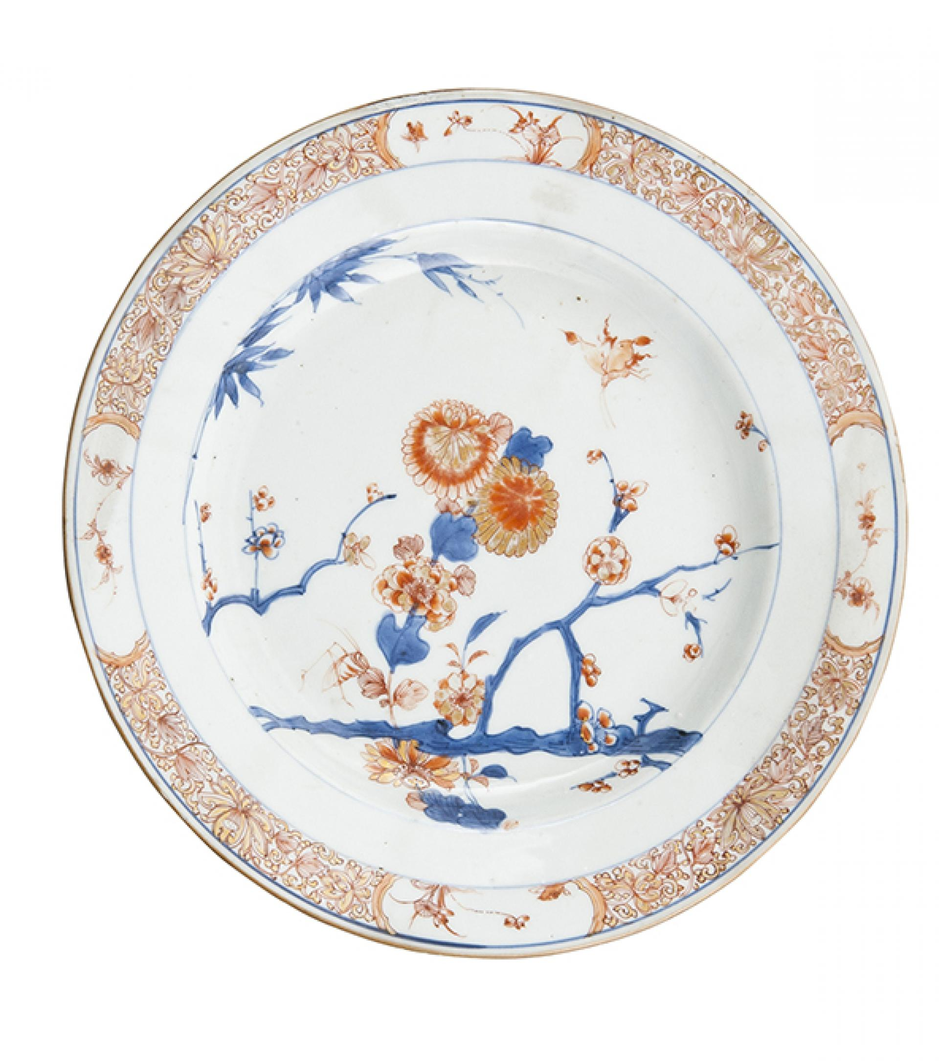 "SHM3249 - Plate ""Chinese imari""PorcelainChinese, 18th century"