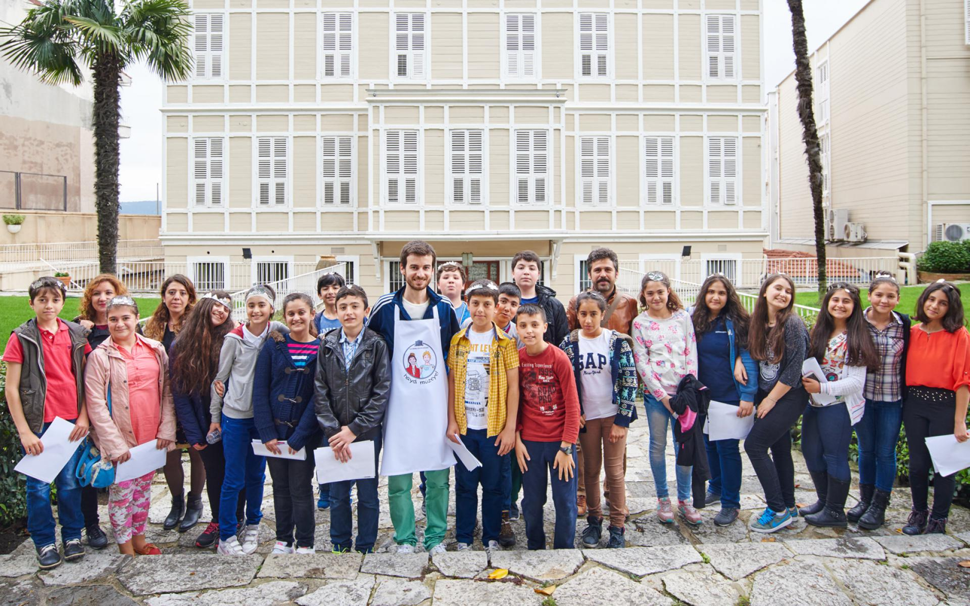 High School - EDUCATION & ACTIVITIES - Sadberk Hanım Museum