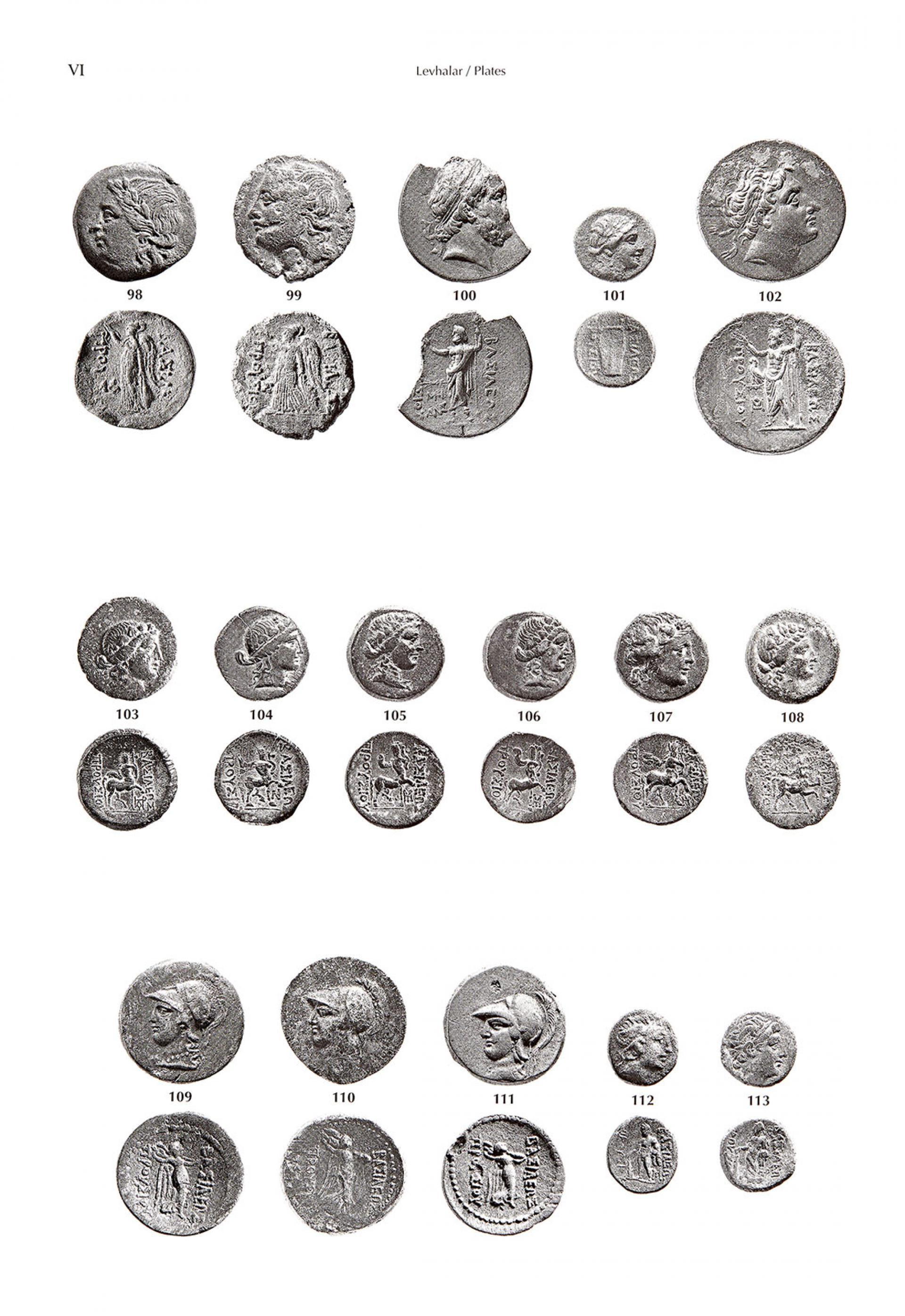 Catalogue of the Ancient Coins in the Sadberk Hanım Museum - BOOKS - Sadberk Hanım Museum