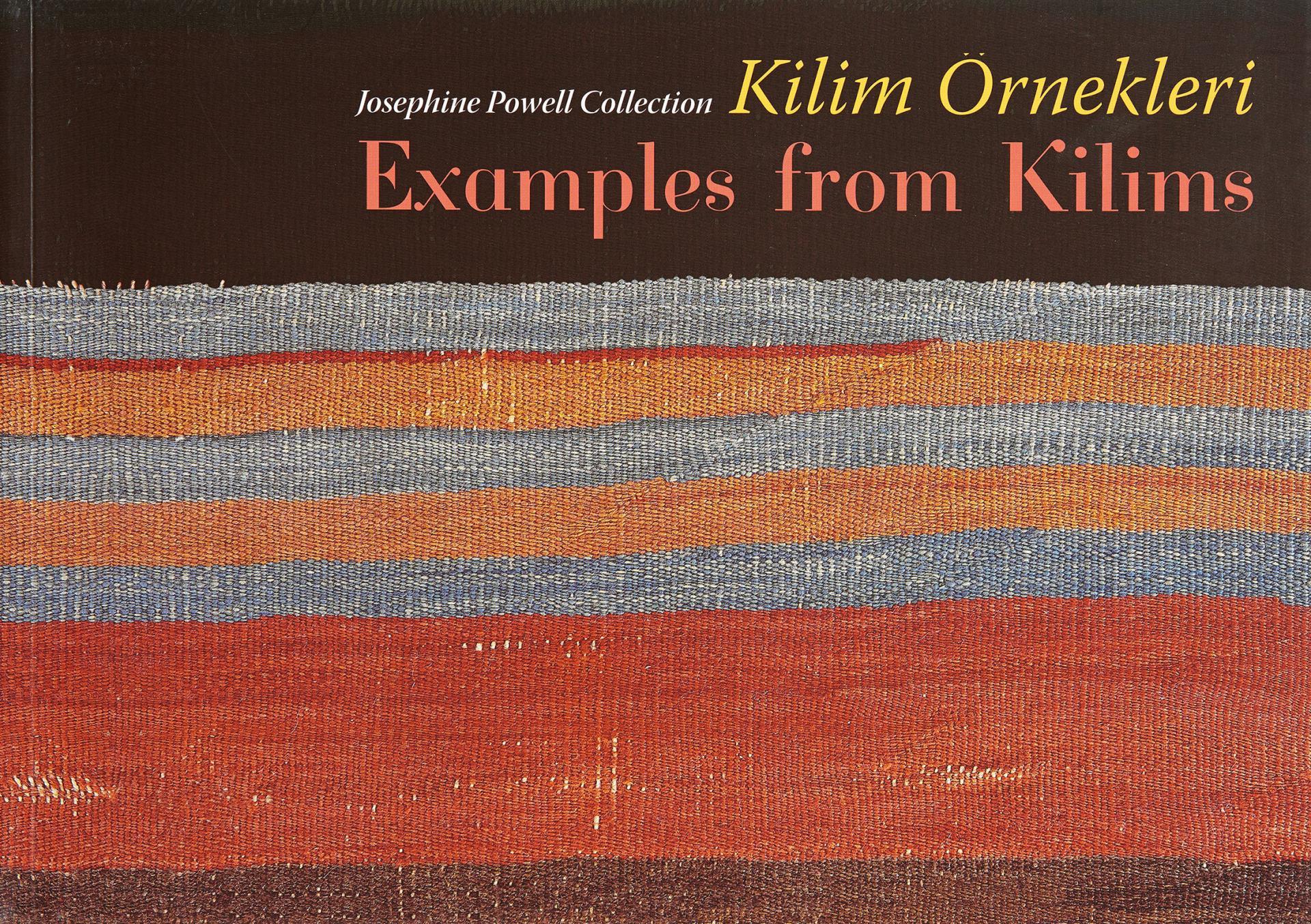 Examples from Kilim - Josephine Powell Collection - BOOKS - Sadberk Hanım Museum