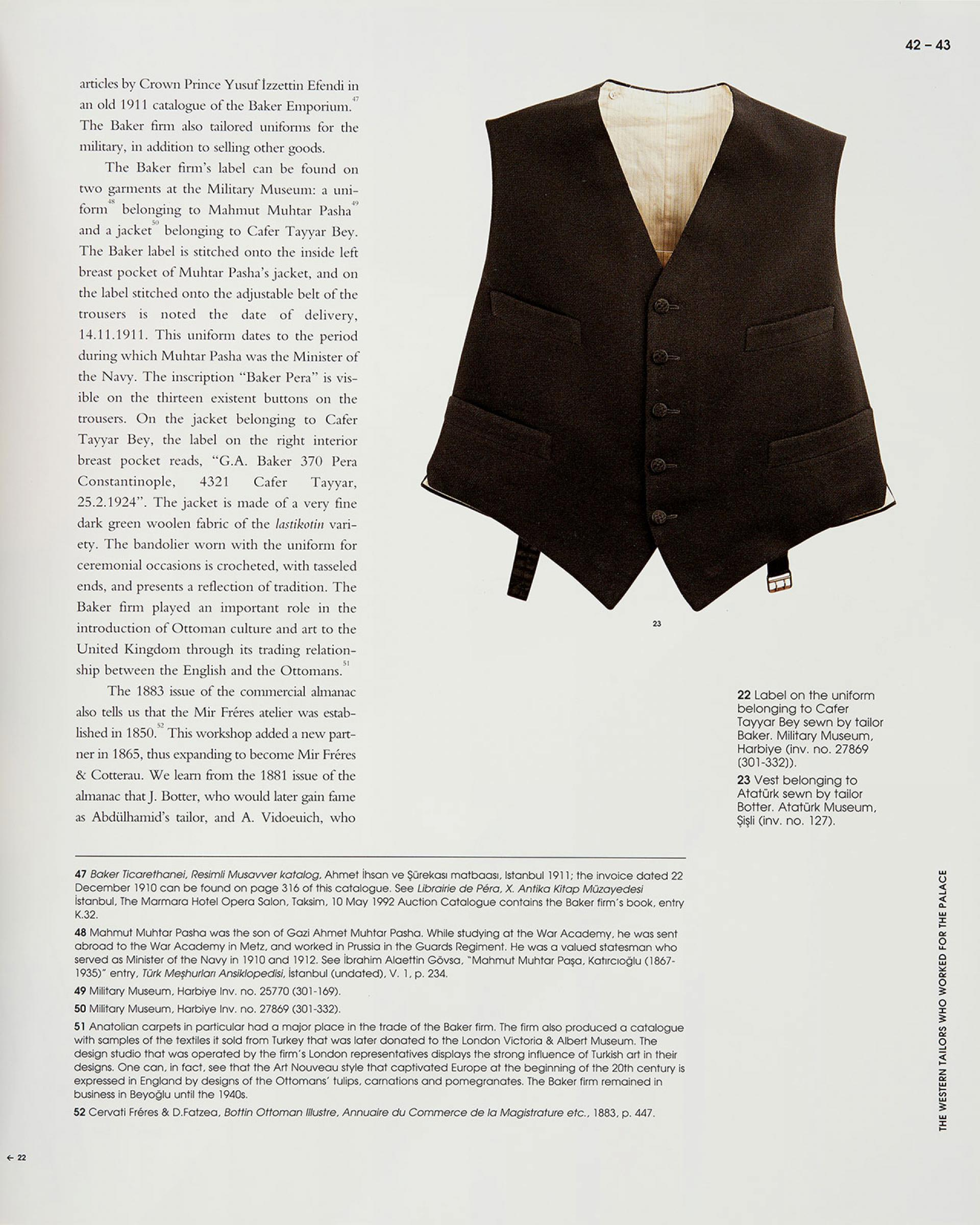 Tailors to the Court: M. Palma - D. Lena - P. Parma - Sadberk Hanım Museum