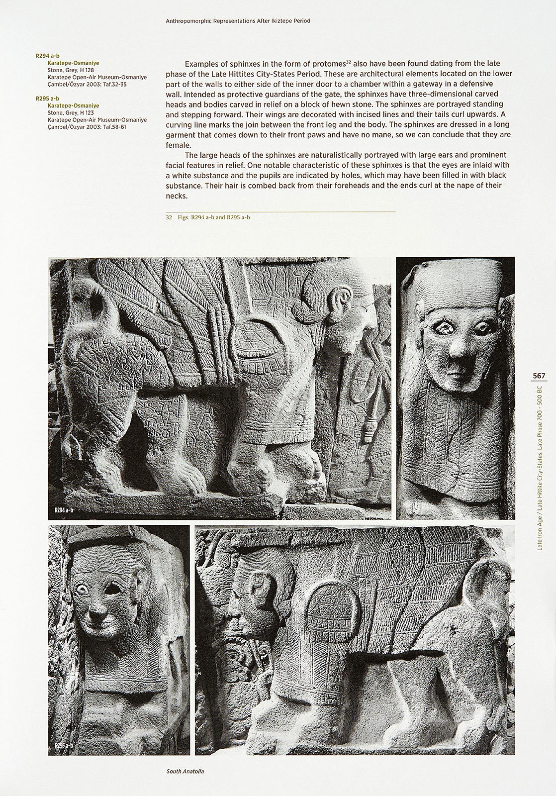 Anthropomorphic Representations in Anatolia - Before The Classical Age - BOOKS - Sadberk Hanım Museum