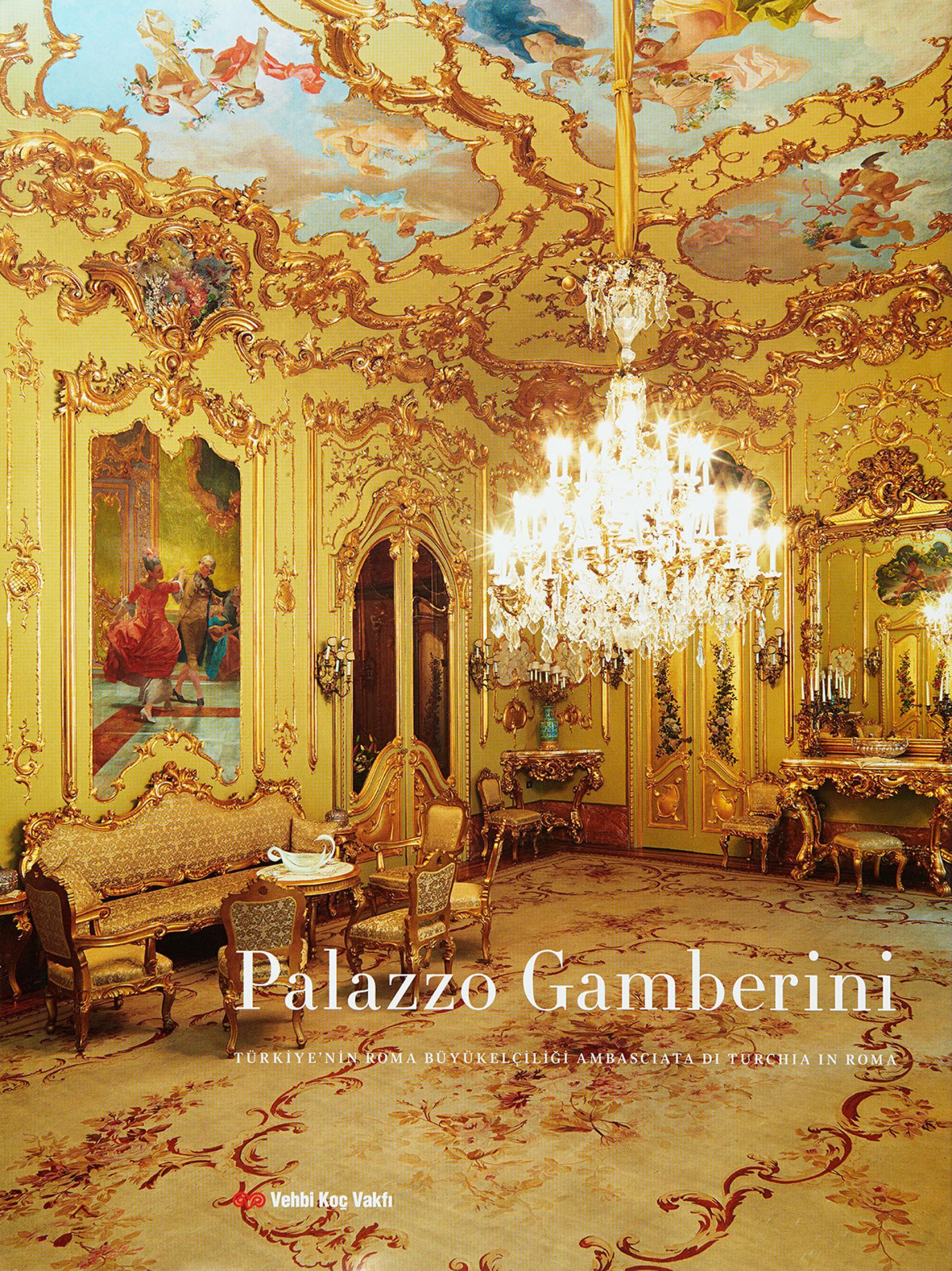 Palazzo Gamberini - Türkiye'nin Roma Büyükelçiliği - KİTAPLAR - Sadberk Hanım Müzesi