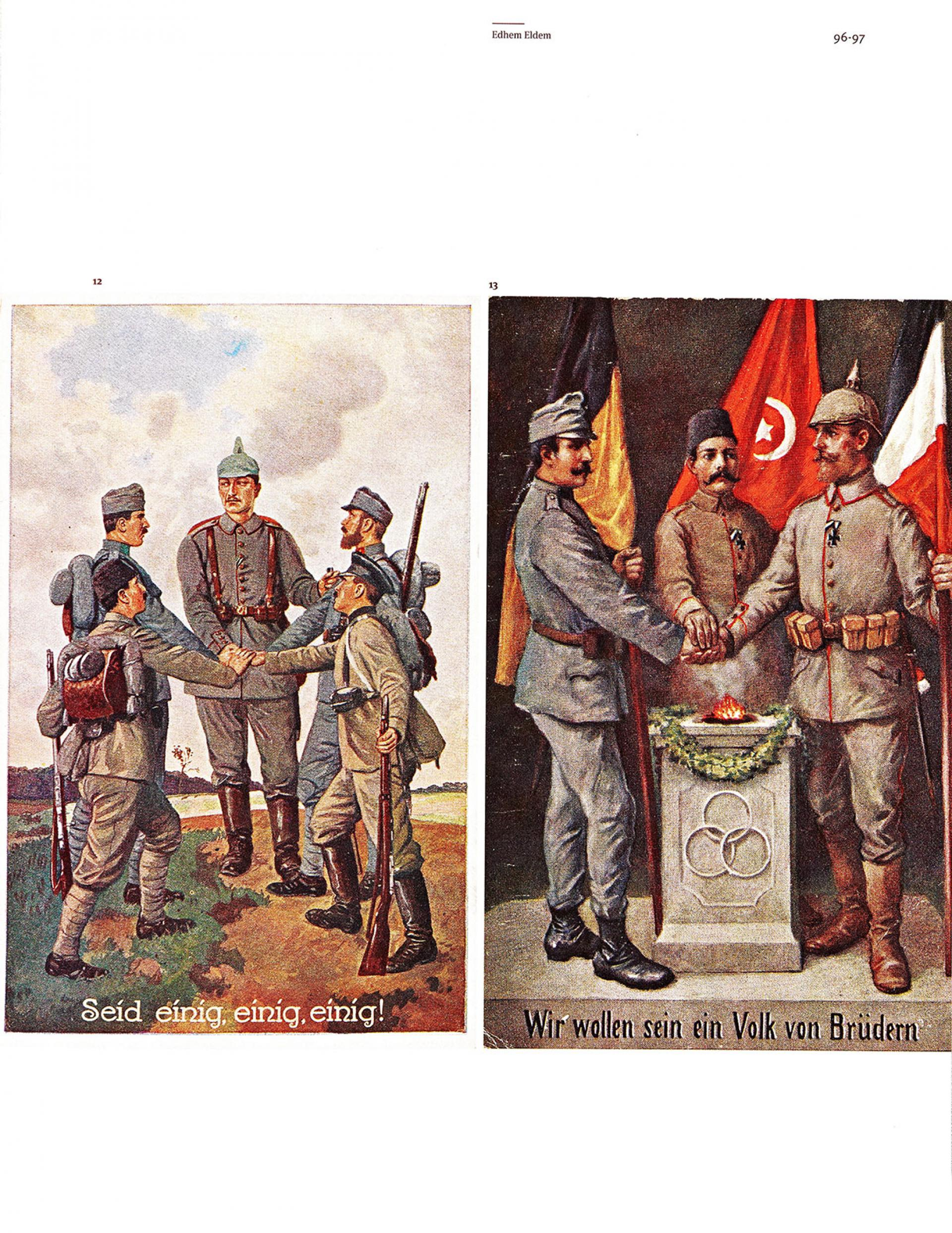 Propaganda and War: The Allied Front during the First World War - Ömer M. Koç Collection - BOOKS - Sadberk Hanım Museum