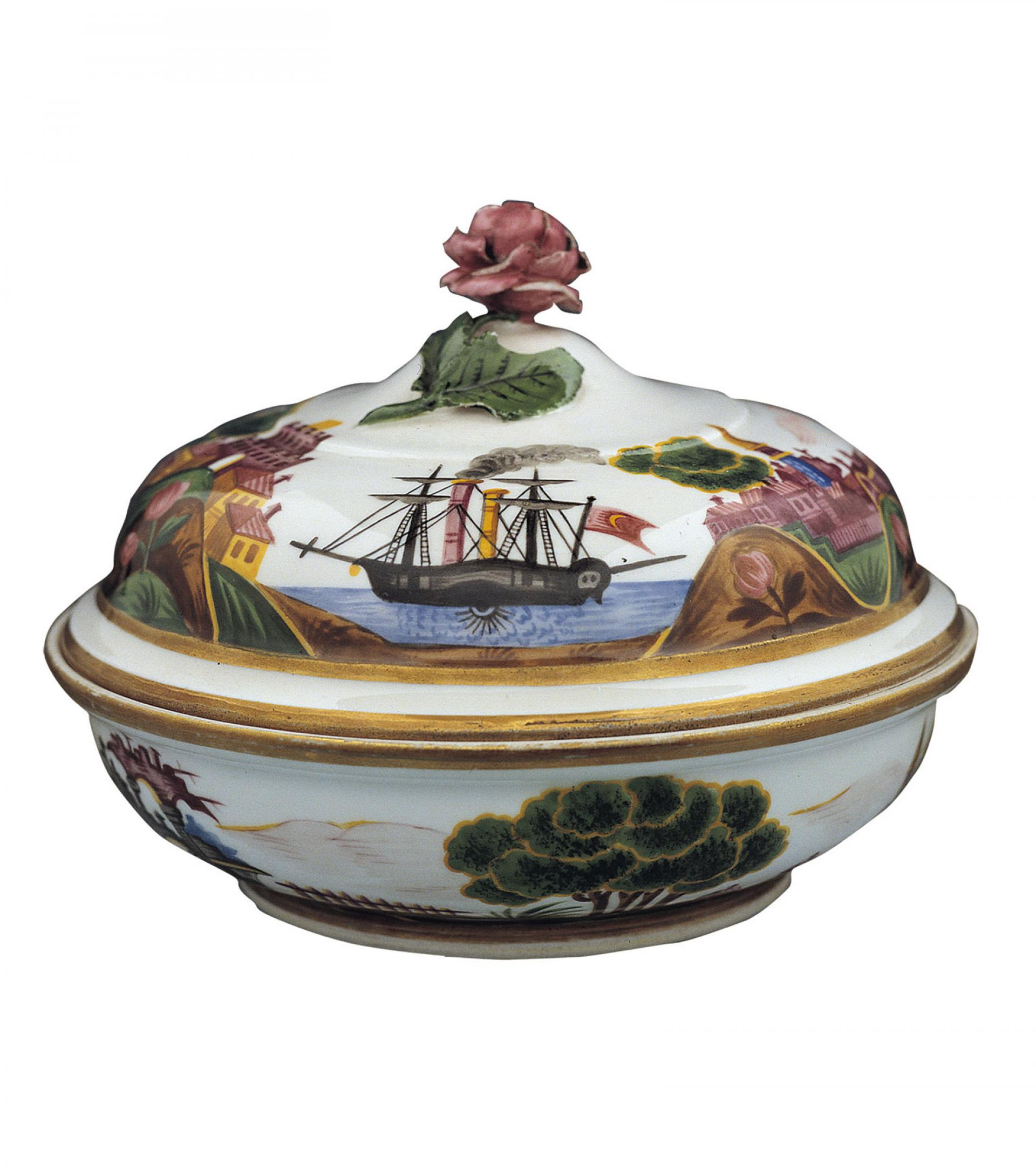 SHM3276 - Lidded dishPorcelainVienna, 19th century